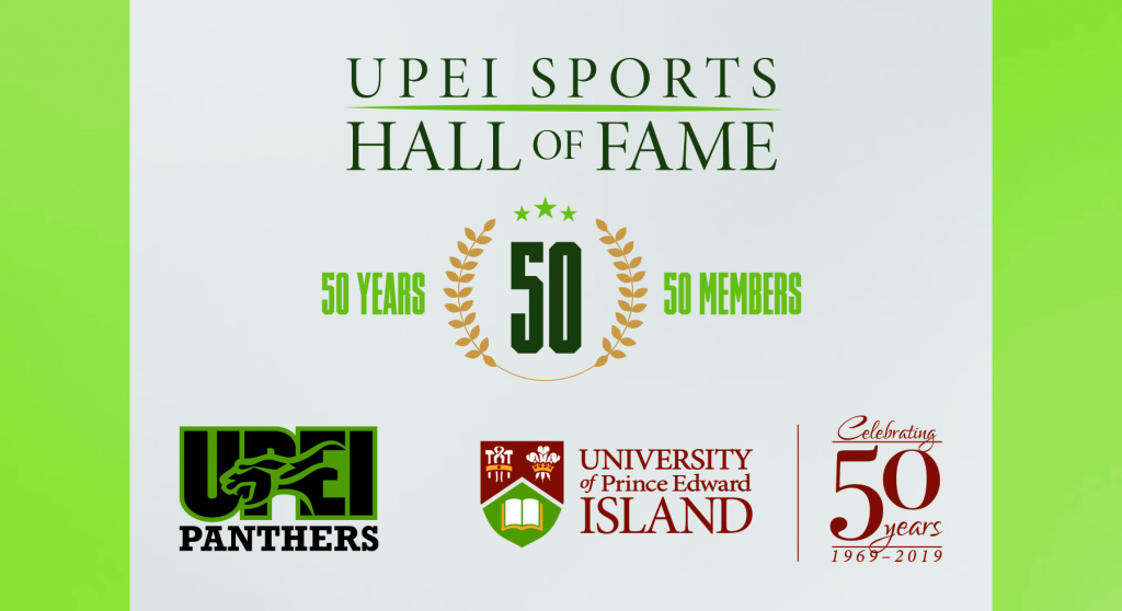 Logos for the UPEI 50th anniversary