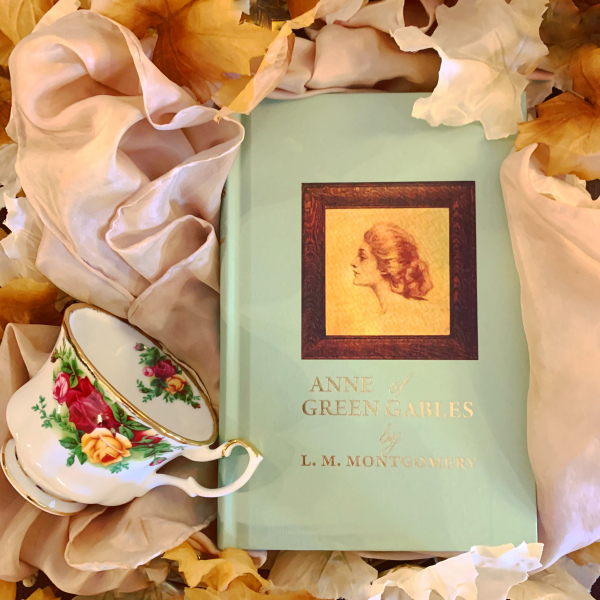 A reproduction of a first-edition Anne of Green Gables