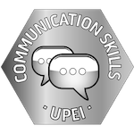 upei communication skills badge