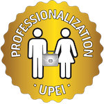 upei professionalism gold badge