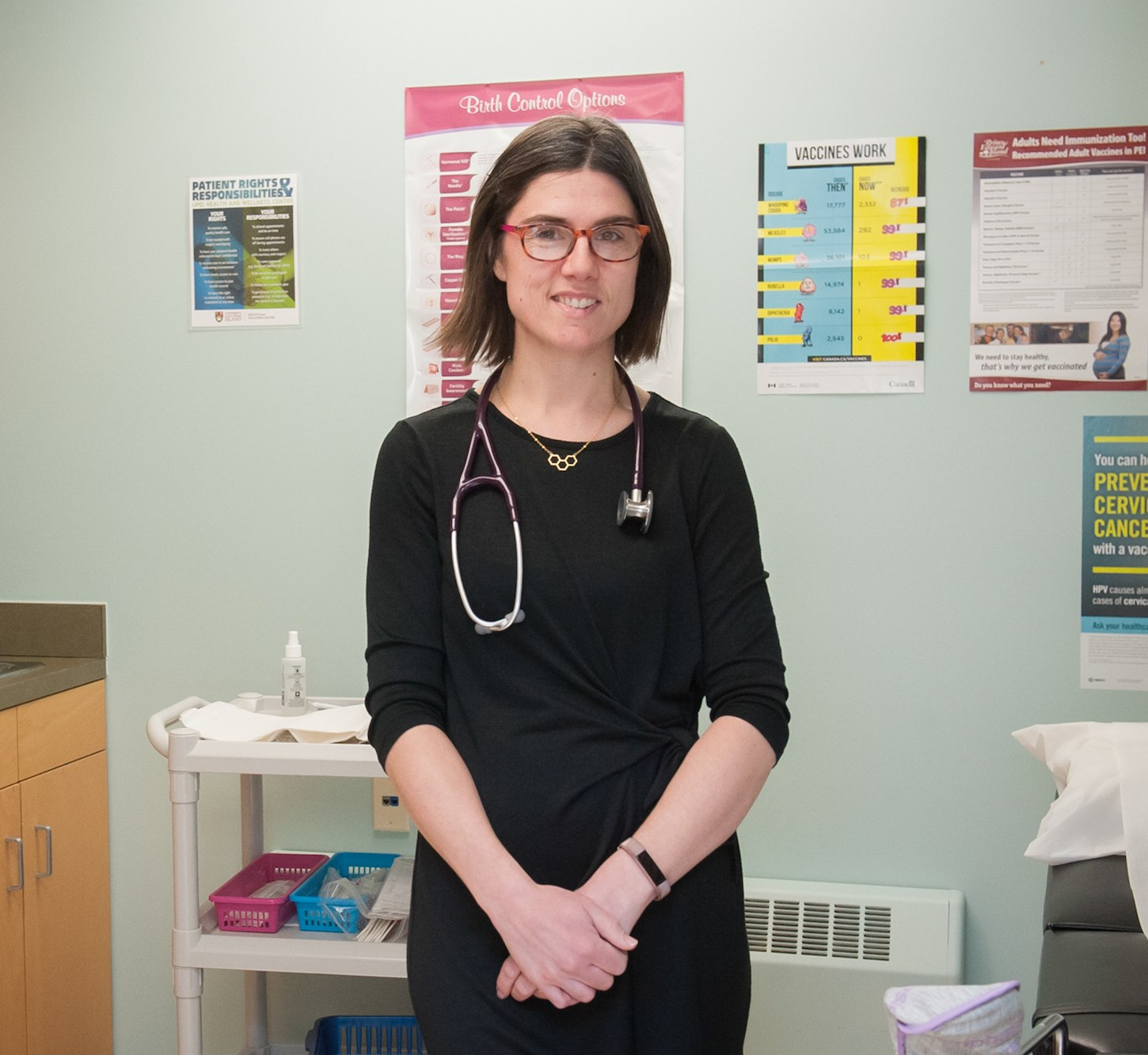 dr. ashby and the UPEI Health Clinic