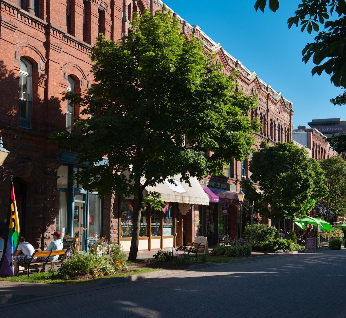 victoria row downtown charlottetown