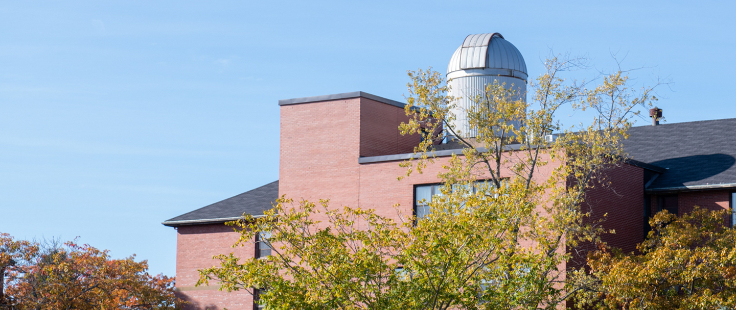 UPEI's observatory atop Memorial Hall