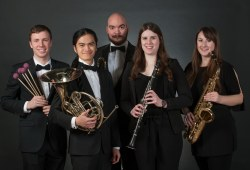 five UPEI music students