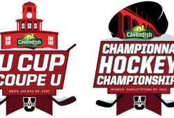 logos for U SPORTS hockey championships