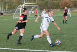 Photo of UPEI women's soccer action
