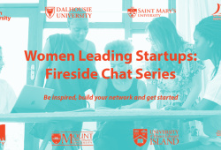 A poster with the title of the event and logos of participating universities