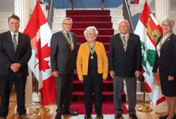 Order of PEI recipients at Government House